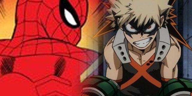 spiderman my hero academia