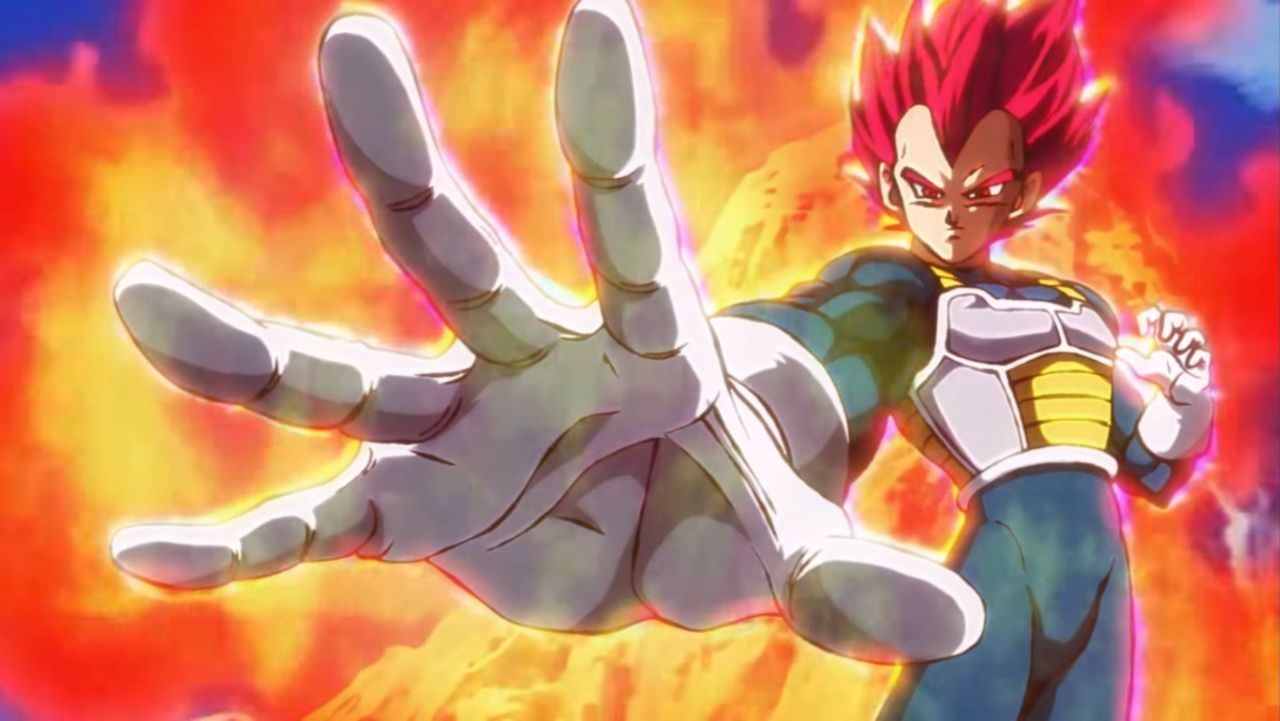 Dragon Ball Super Broly Gives Longest Look At Ssg Vegeta Yet