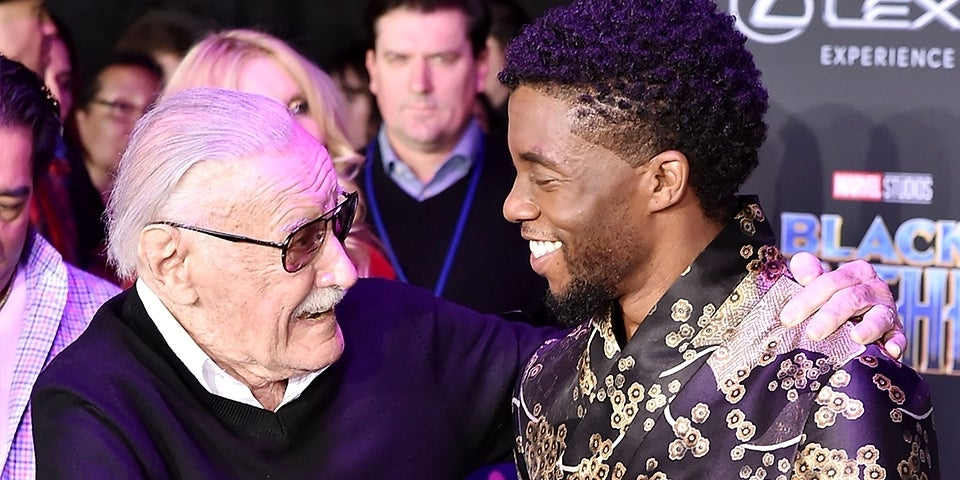 Stan-Lee-Chadwick-Boseman-Getty-David-Crotty-FB