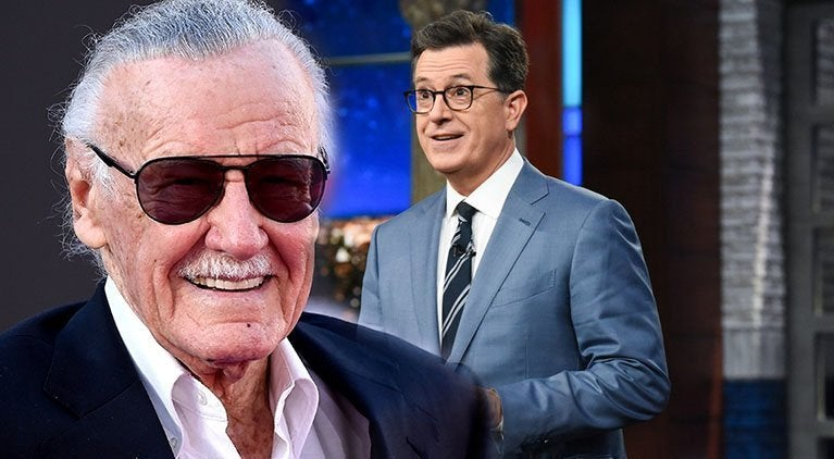 stan lee stephen colbert