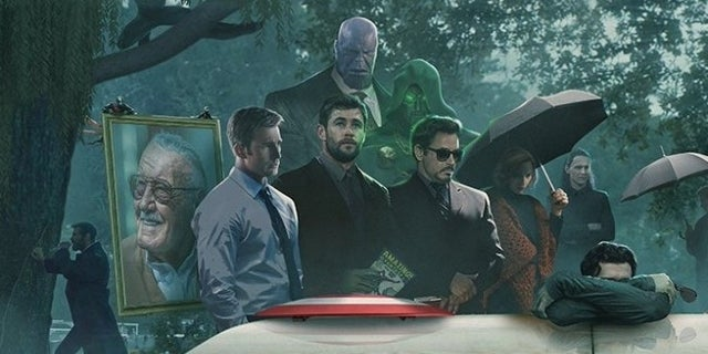 Marvel Heroes Mourn Stan Lee In Heartbreaking Tribute Art