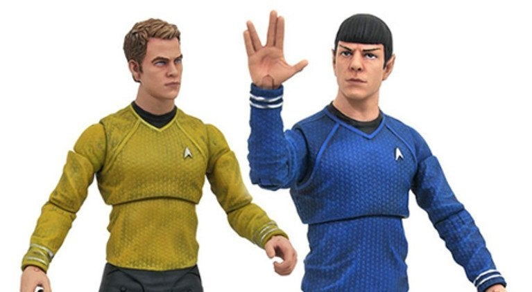 Star Trek Into Darkness Diamond Select Toys