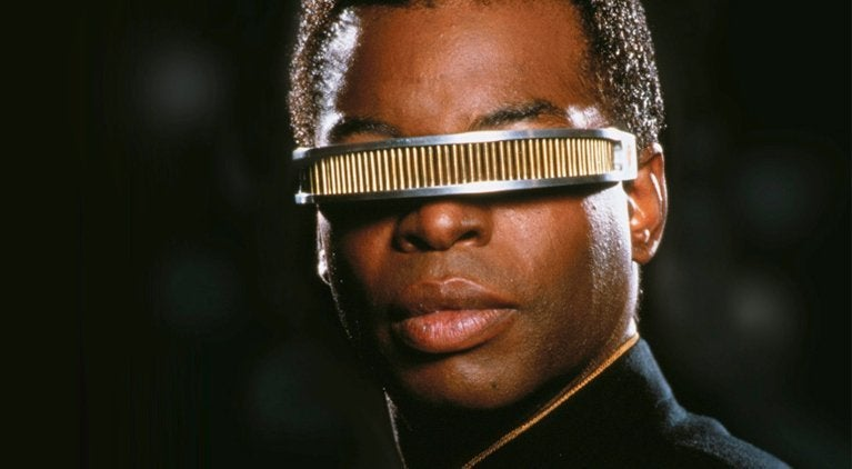 Star Trek LeVar Burton Geordi La Forge