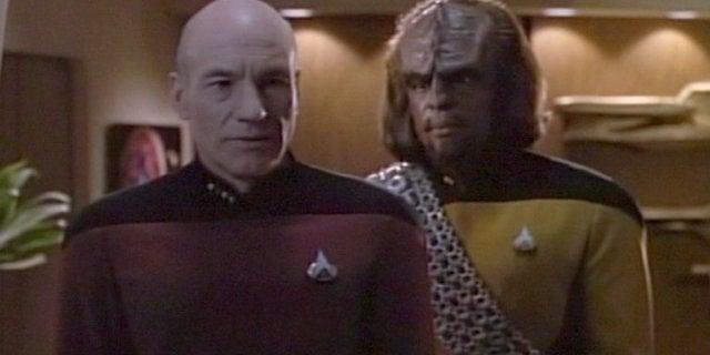 Star Trek PIcard Worf