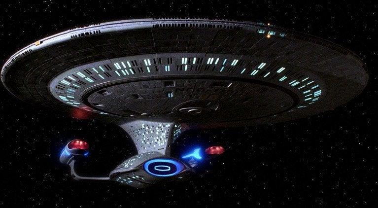 Star Trek TNG Enterprise D