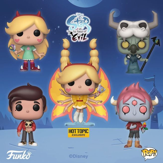 Disneys Star Vs The Forces Of Evil Funko Pops Are Here
