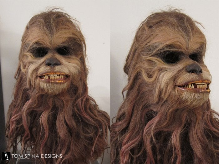 star wars holiday special malla mask wookiee