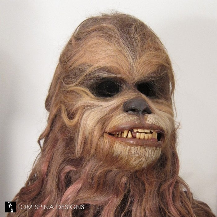 star wars holiday special malla mask wookiee 2