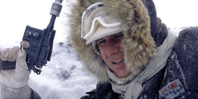 star wars the empire strikes back han solo hoth