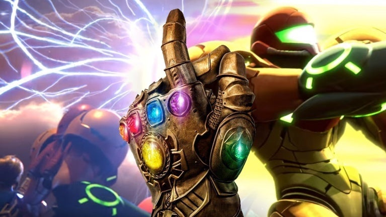 Super Smash Bros  Ultimate' and Marvel Fans Freaking Out