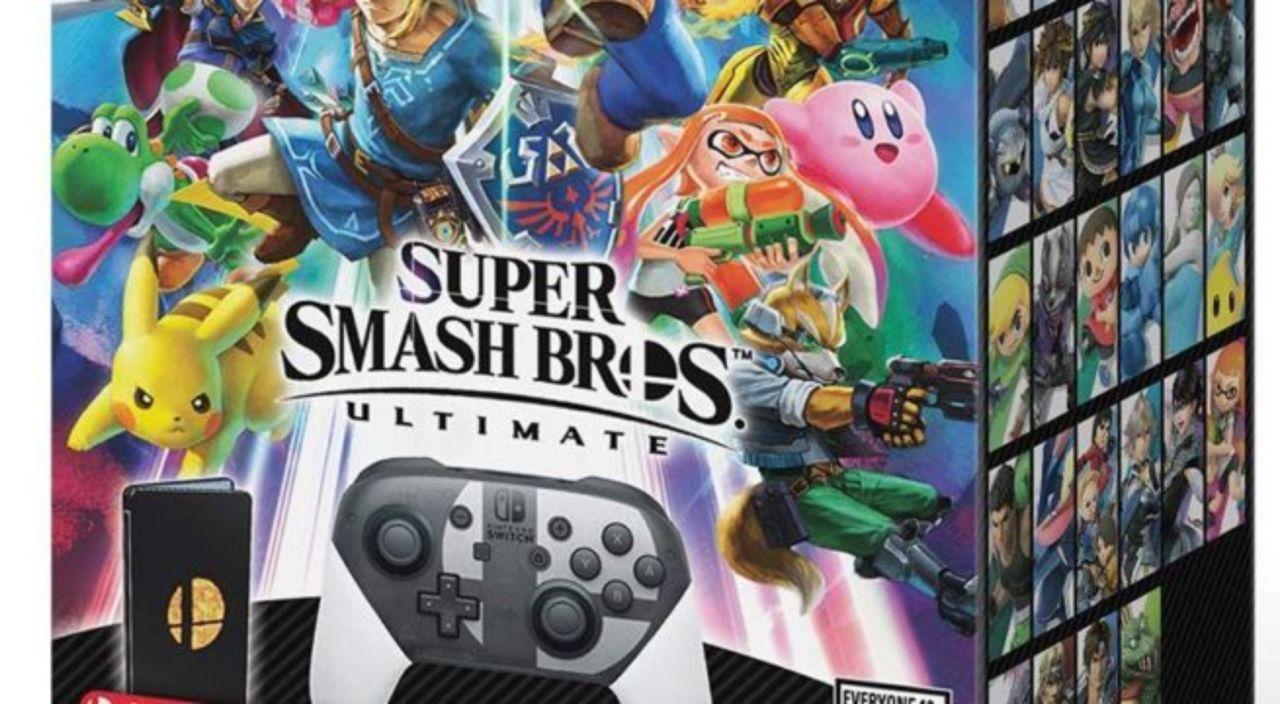 smash bros ultimate special edition