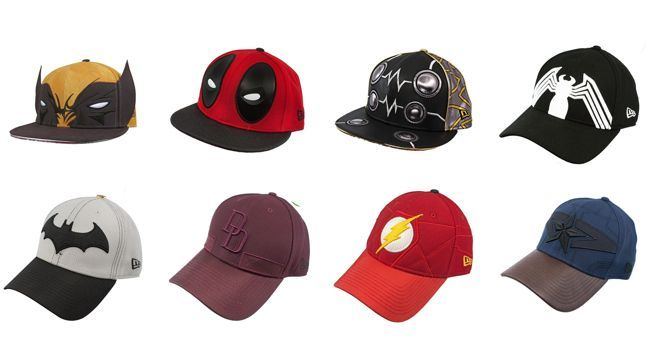 647f856082a39 A line of Marvel and DC Comics superhero hats has arrived from New Era s  59Fifty and 39Thirty brands