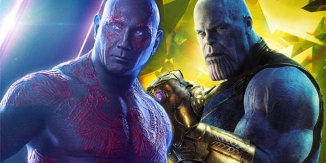 Thanos vs Drax