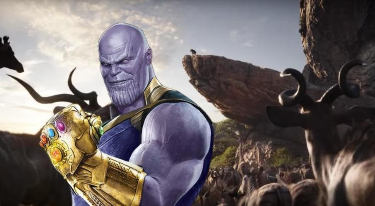 The Lion King' and 'Avengers: Infinity War' Fan Art Mashup Imagines