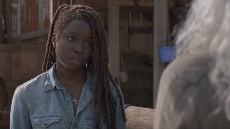 The Walking Dead Michonne Carol