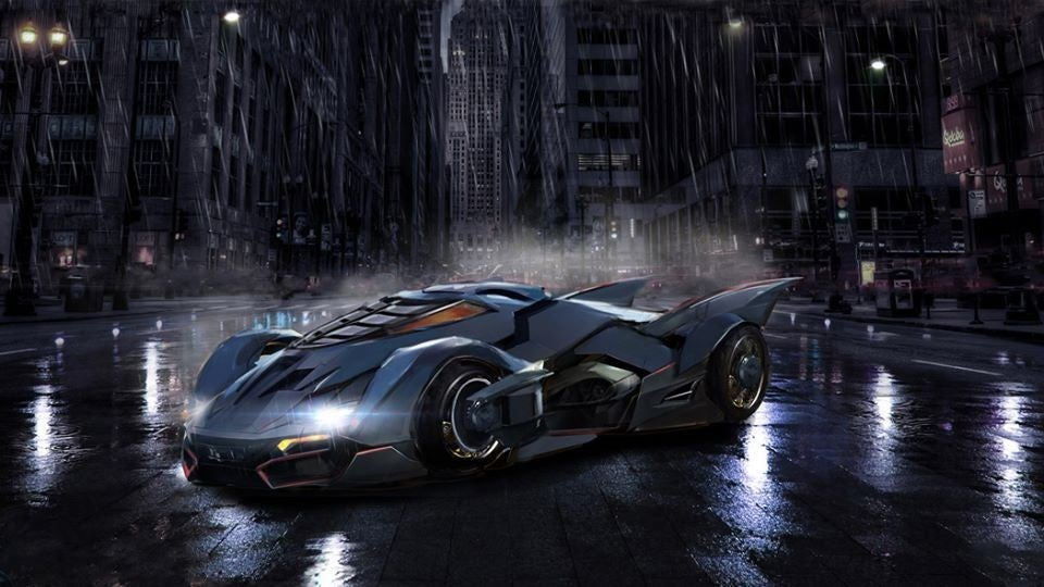 'Titans' Batmobile Designs Revealed