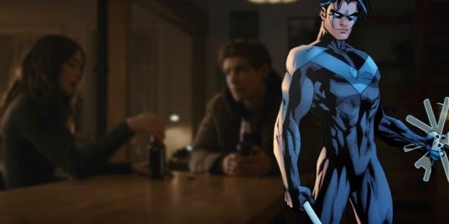 Titans Episode 8 Nightwing Foreshadow Tease
