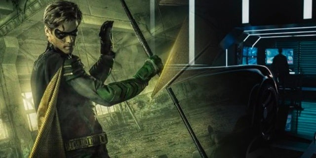 Titans-Robin-Batmobile