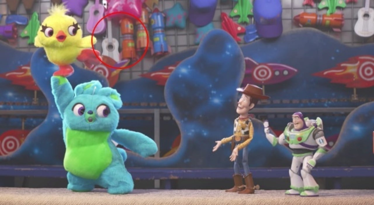 Toy Story 4 Teaser Includes Multiple Pixar Movie Easter Eggs