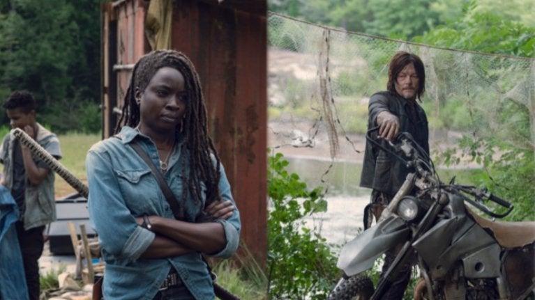 TWD Michonne Daryl
