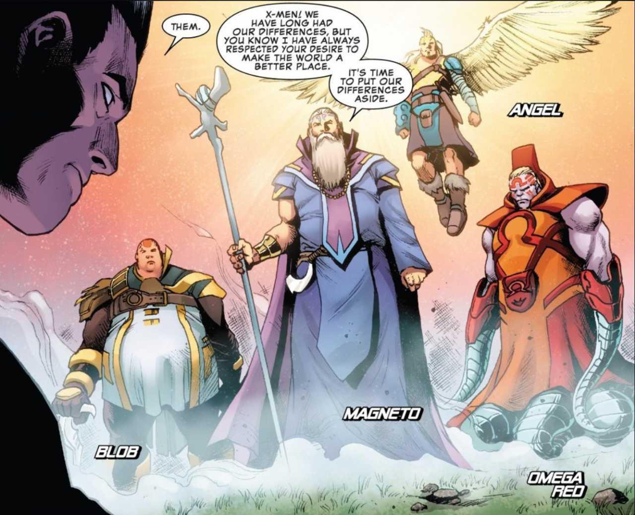 Cavaleiros X-Men Inexpostos da Salvação