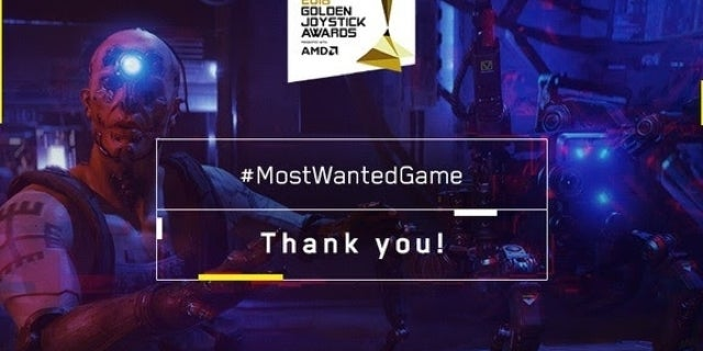 """'Cyberpunk 2077' Named """"Most Wanted Game"""" at Golden Joystick Awards"""