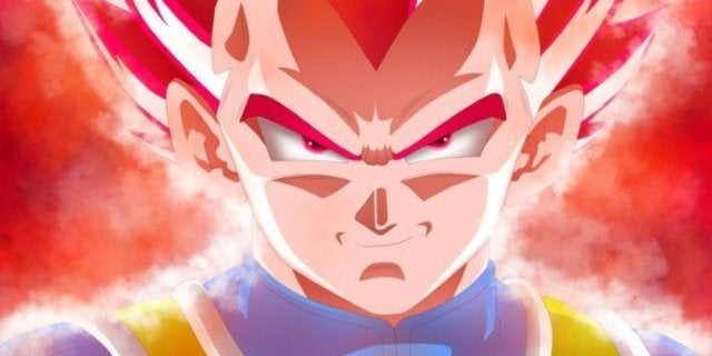Vegeta Super Saiyan God Dragon Ball Super Broly