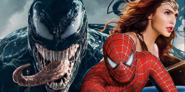 venom spider man wonder woman