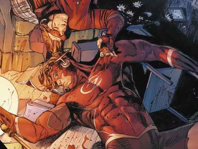 Wally-West-Flash-Dead-Crisis-Comic