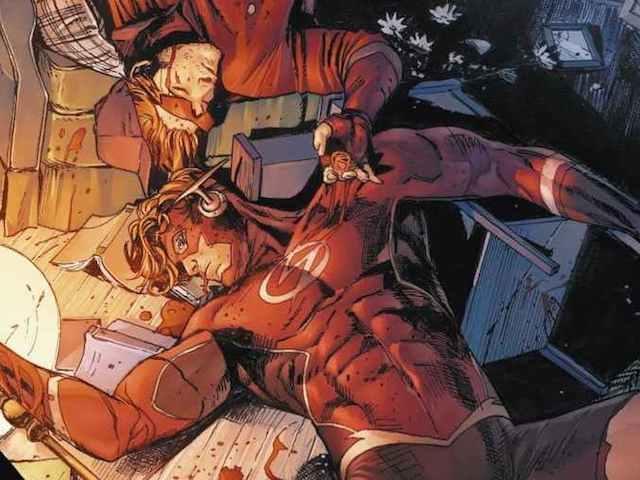 Wally-West-Flash-Dead-Crisis-Comic