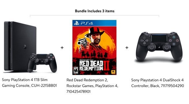 Cyber Monday $199 PS4, Red Dead Redemption 2, and Controller Bundle
