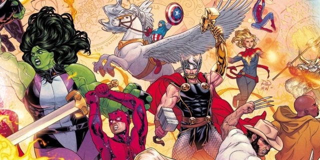 Marvel Reveals First Look at 'The War of the Realms'