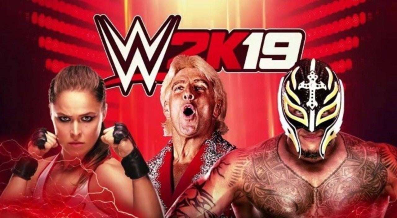 WWE 2K19' DLC for Ronda Rousey, Rey Mysterio, Ric Flair Now