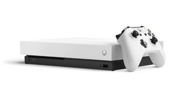 White Xbox One X-Standalone version leaked