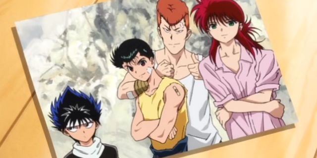 New 'Yu Yu Hakusho' Anime Special Reveals Ending Sequence