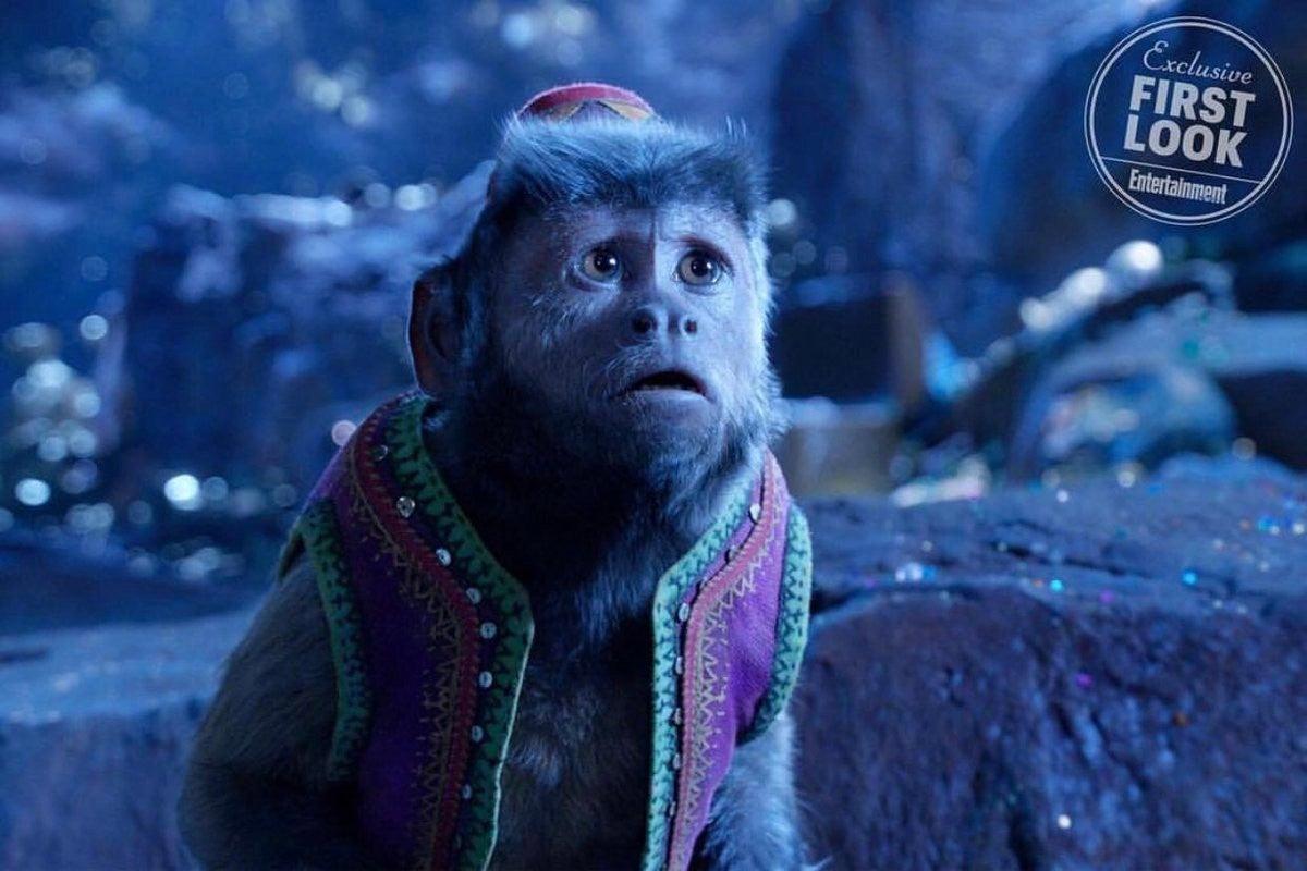 Disney 39 s 39 aladdin 39 first look at abu revealed - Le singe d aladdin ...