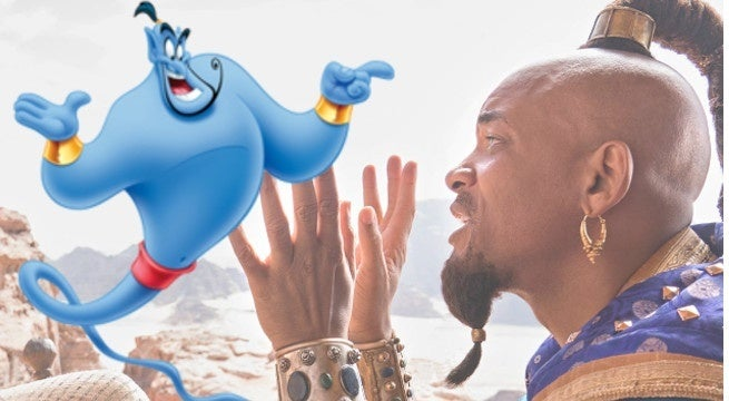 aladdin genie will smith blue