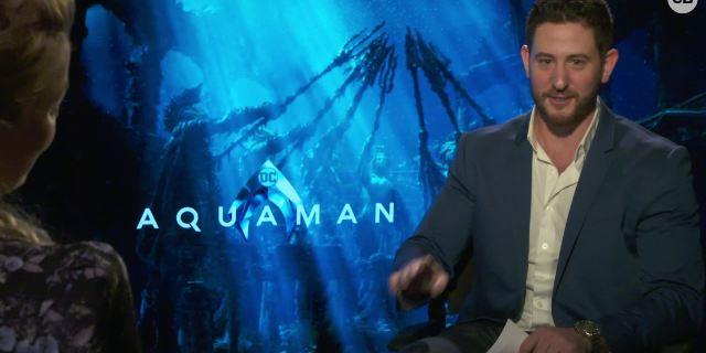 Amber Heard Talks 'Aquaman' screen capture