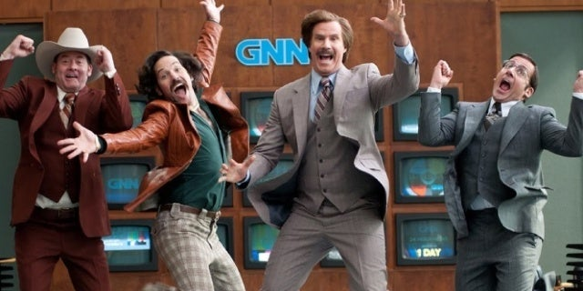 Steve Carell Says He's up for 'Anchorman 3'