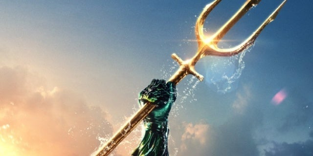 aquaman movie trident