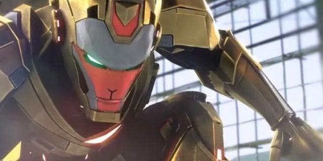 armored warrior iron man