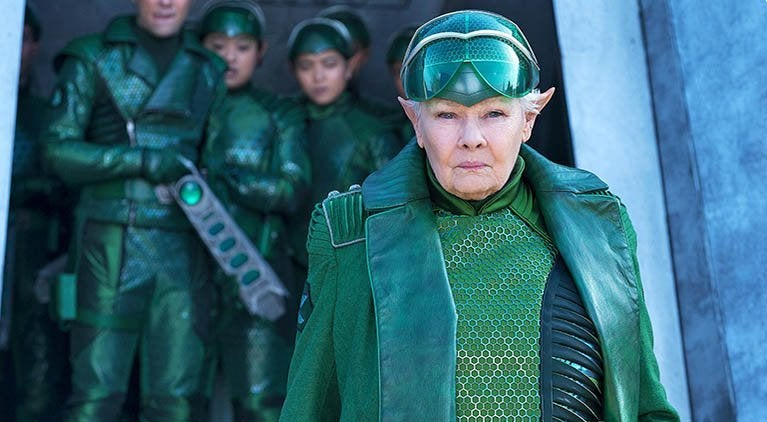 artemis fowl judi dench commander root