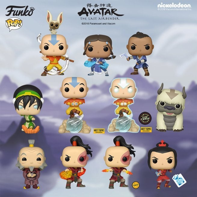 avatar-the-last-airbender-funko-pops