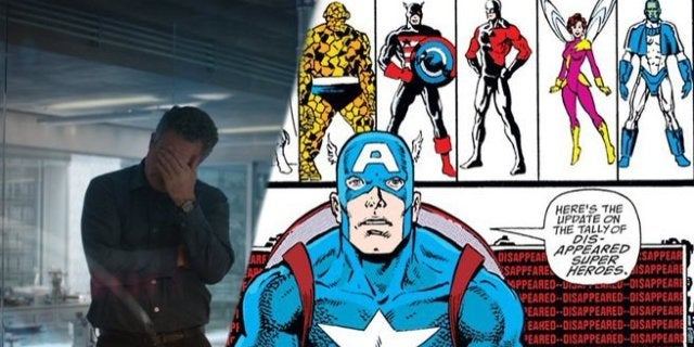 Avengers Endgame Infinity Gauntlet Comic Missing Dead Heroes Reference