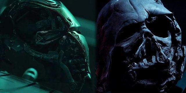 avengers endgame iron man helmet darth vader