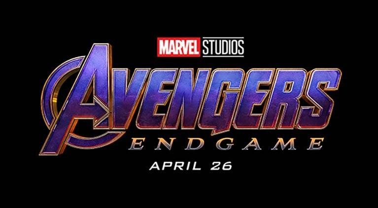 avengers endgame logo header