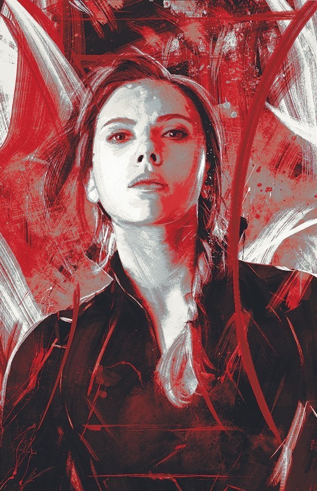 Avengers Endgame Promo Art - Black Widow