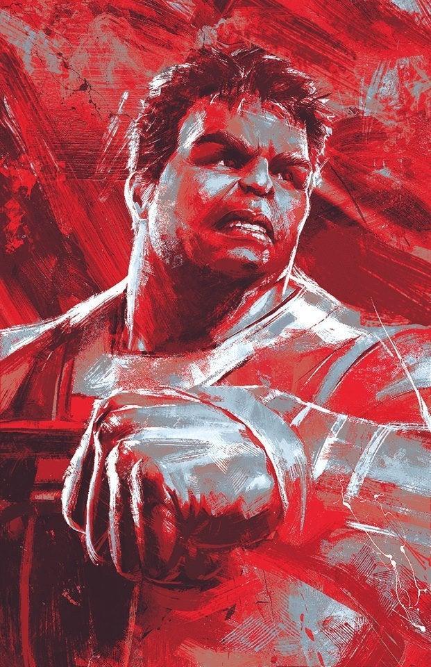 Avengers Endgame Promo Art - Hulk