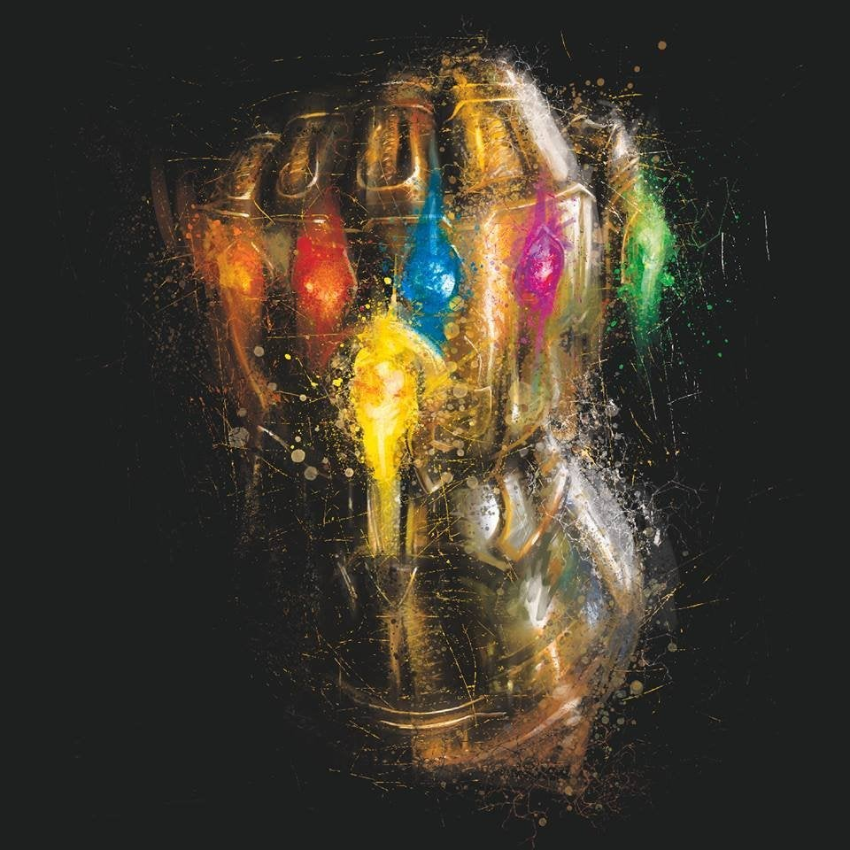 Avengers Endgame Promo Art - Infinity Gauntlet