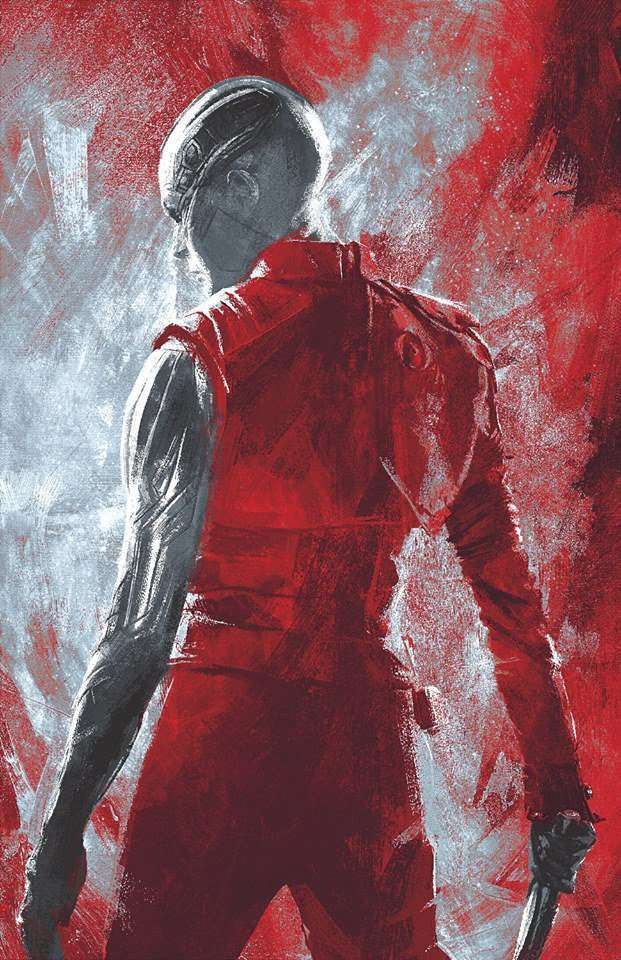 Avengers Endgame Promo Art - Nebula